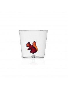 ICHENDORF Collection Animal Farm Design Alessandra Baldereschi gobelet timbale verre écureuil
