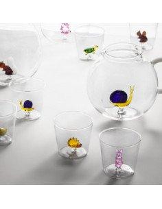 ICHENDORF Collection Animal Farm Design Alessandra Baldereschi gobelet timbale verre lapin