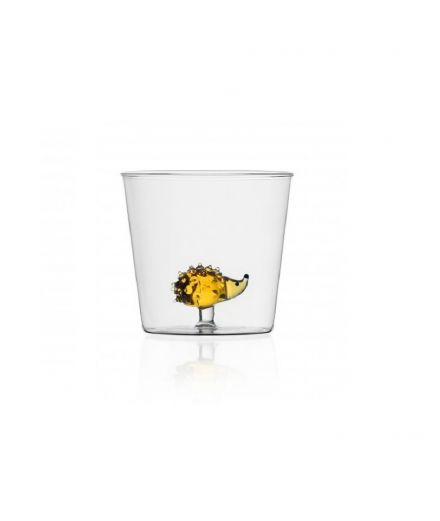 ICHENDORF Collection Animal Farm Design Alessandra Baldereschi gobelet timbale verre hérisson