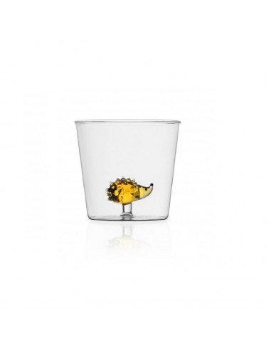 ICHENDORF Collection Animal Farm Design Alessandra Baldereschi gobelet timbale verre hérisson