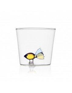 ICHENDORF Collection Animal Farm Design Alessandra Baldereschi gobelet timbale verre poisson