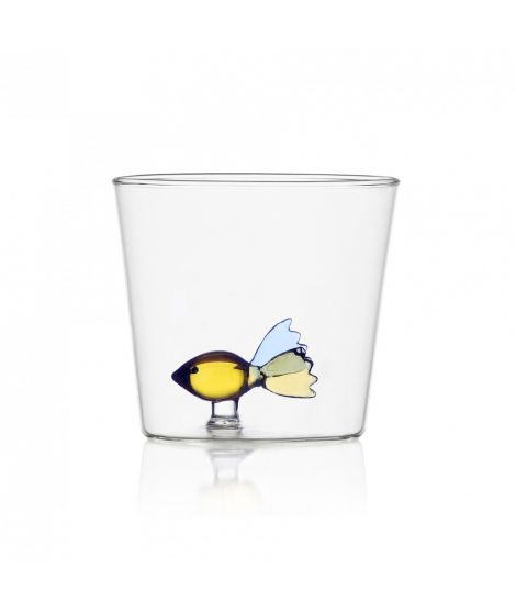 ICHENDORF Collection Animal Farm Design Alessandra Baldereschi gobelet timbale verre poisson