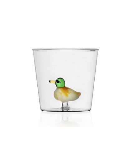 ICHENDORF Collection Animal Farm Design Alessandra Baldereschi gobelet timbale verre canard