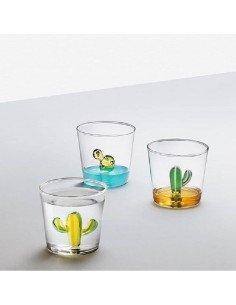 ICHENDORF Collection Desert plants design alessandra baldereschi verre timbale gobelet cactus vert