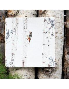 """STORYTILES Carreau de céramique """"Là haut dans les arbres"""""""