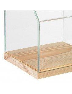 Rader Maison vitrine verre et bois