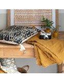 VIVARAISE - Plaid Zeff nomade coloris bronze