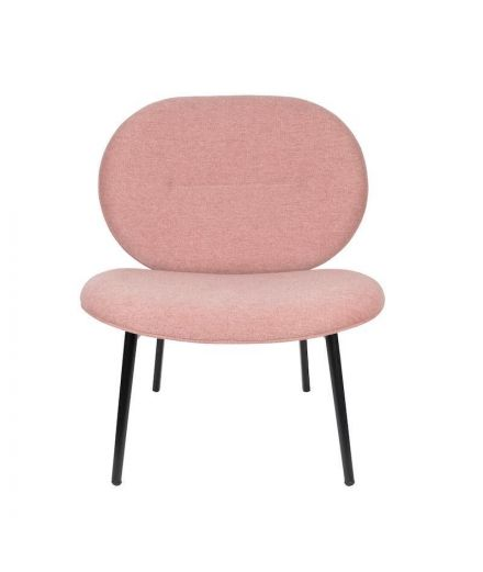 ZUIVER Fauteuil Spike rose