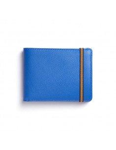 CARRE ROYAL Portefeuille porte-monnaie bleu ciel