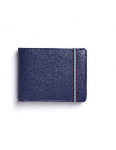 CARRE ROYAL Portefeuille porte-monnaie marine