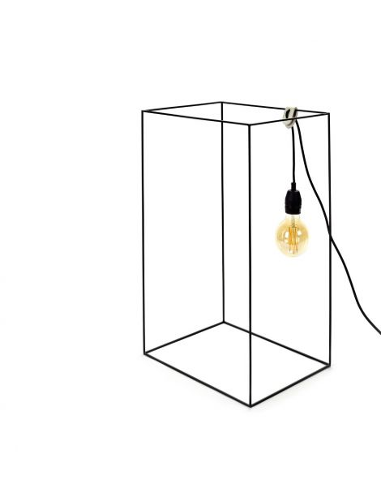 SERAX Lampe Lumière Carré noir