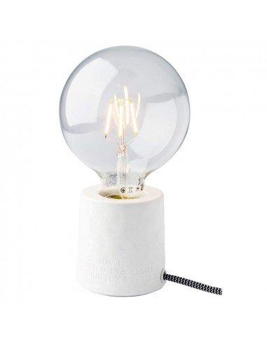 RÄDER DECORATION Lampe en porcelaine blanche