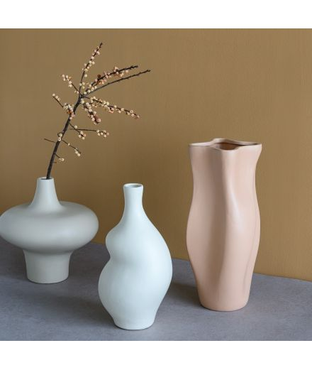 URBAN NATURE CULTURE Vase toupie blanc
