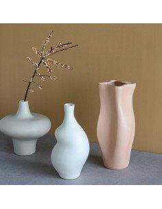 URBAN NATURE CULTURE Vase toupie blanc
