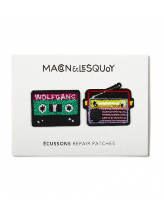 MACON ET LESQUOY Mini écussons Radio K7