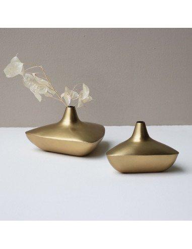 URBAN NATURE CULTURE Vase metal doré Alladin S