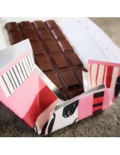 Coco Chocolatier Chocolat Rhubarbe et gingembre