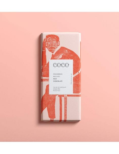 Coco Chocolatier Chocolat Lait Colombien 40%