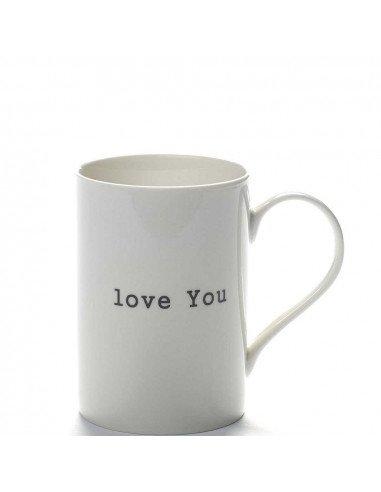 """SERAX Mug porcelaine """"Iove You"""""""