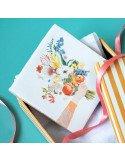 """STORYTILES Carreau de céramique """"Les fleurs disent tout"""""""