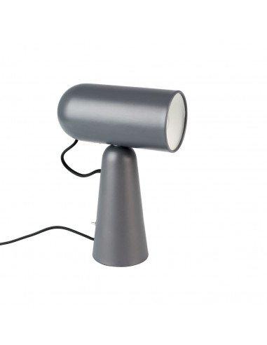 WHITE LABEL LIVING Lampe à poser Vesper gris foncé
