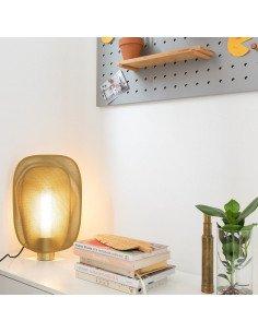 ZUIVER Lampe de table Mai medium or
