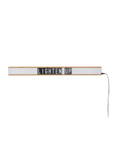 ZUIVER Luminaire applique murale lightbox