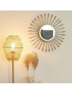 Miroir soleil Selena Gold