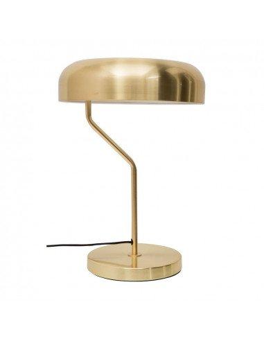 DUTCHBONE Lampe à poser Eclipse laiton doré