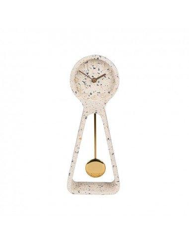 ZUIVER Horloge Terrazzo