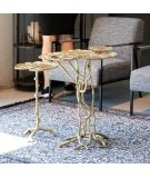 WHITE LABEL LIVING Table Lilly dorée