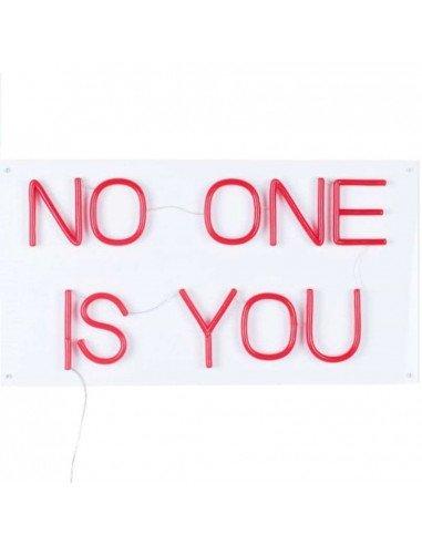 BOLD MONKEY Néon No One Is You