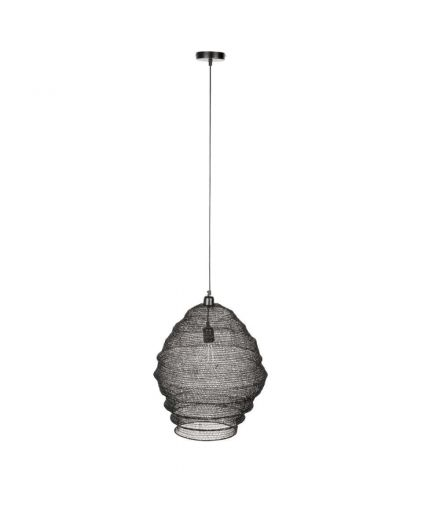 WHITE LABEL Suspension Lena noir