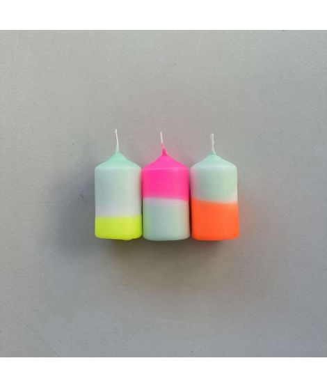 PINK STORIES Bougies PM Rainbow Drops