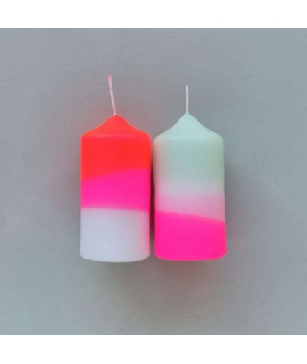 PINK STORIES Bougies duo Peppermint