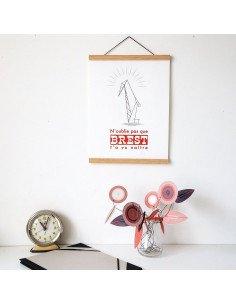 Pappus Editions - Porte affiche aimanté 30 cm