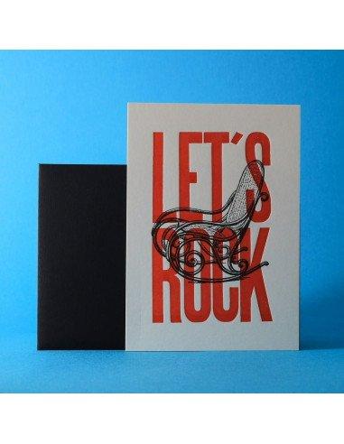 Pappus Editions - Carte Let's rock