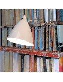 Tsé et Tsé Associées Lampe cornette porcelaine brillange