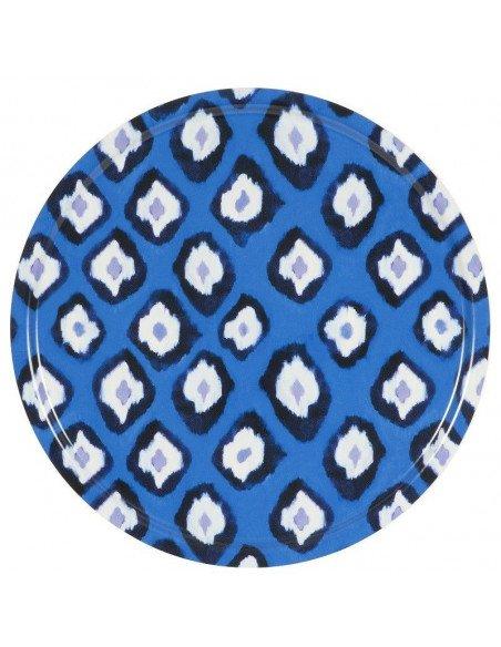 Plateau XL Ikat blue