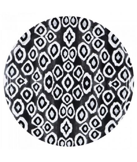 MARISKA MEIJERS Table d'appoint Ikat Black 65 cm