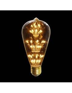 Tsé et TSé Associées Ampoule décorative à pois