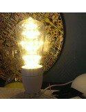 Lampe Spoutnik Ampoule décorative type Edison à pois