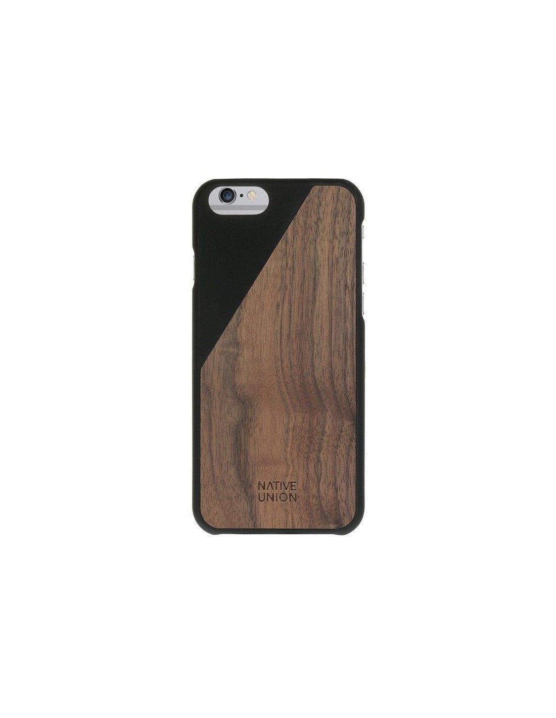 coque bois noire pour iphone 6 native union