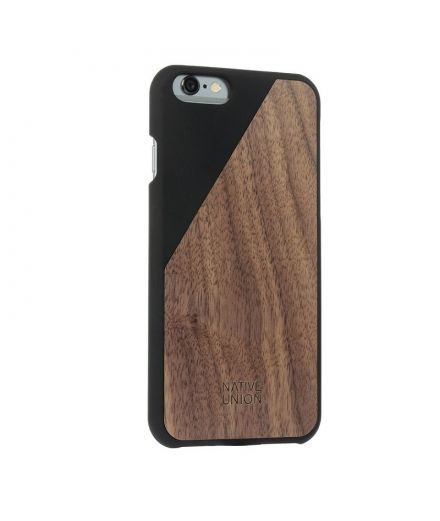 Native Union Coque Wood noire pour iPhone 6+