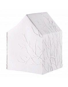Rader Lampe maison porcelaine biscuit arbre oiseaux veilleuse chambre enfant decoration scandinave