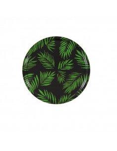 Mariska Meijers Amsterdam Plateau Palm Beach vert décors palmier