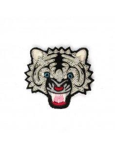 Macon et Lesquoy broche brodée main tigre été 2016