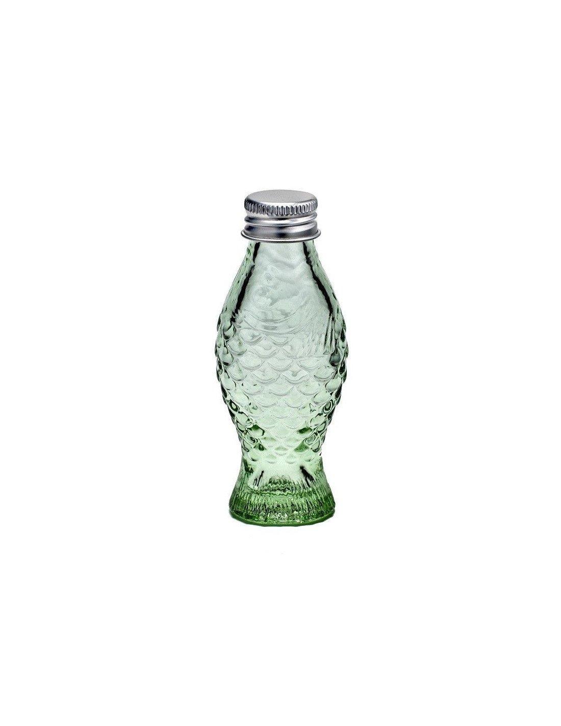 Serax mini bouteille poisson design paola navone - La bouteille sur la table ...