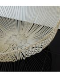 Serax design antonino sciortino Corbeille métal blanc