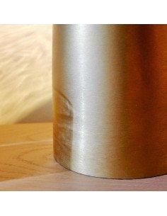 House Doctor Lampe à poser luminaire design original Note cuivre et verre soufflé